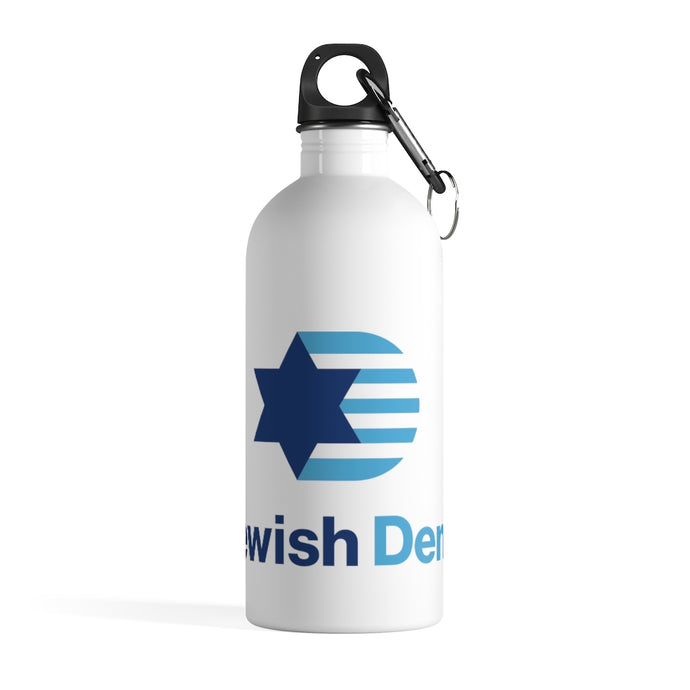 Jewish Dems Stainless Steel Water Bottle