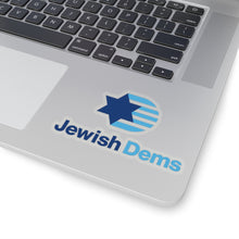 Load image into Gallery viewer, Jewish Dems Logo Sticker