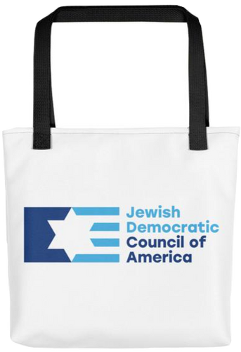 Jewish Democratic Council Logo Tote
