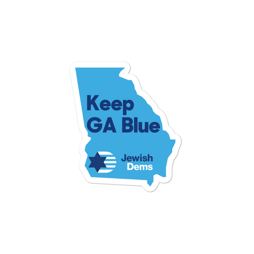 Keep GA Blue Sticker