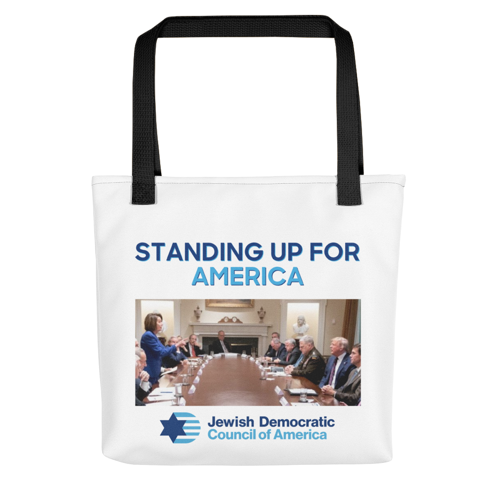 Standing Up For America Tote Bag