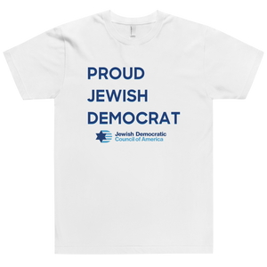 Proud Jewish Democrat T-Shirt