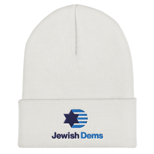 Load image into Gallery viewer, Jewish Dems Cuffed Beanie