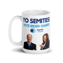 Load image into Gallery viewer, Yo Semites! Vote Biden and Harris Mug