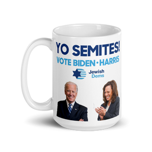 Yo Semites! Vote Biden and Harris Mug