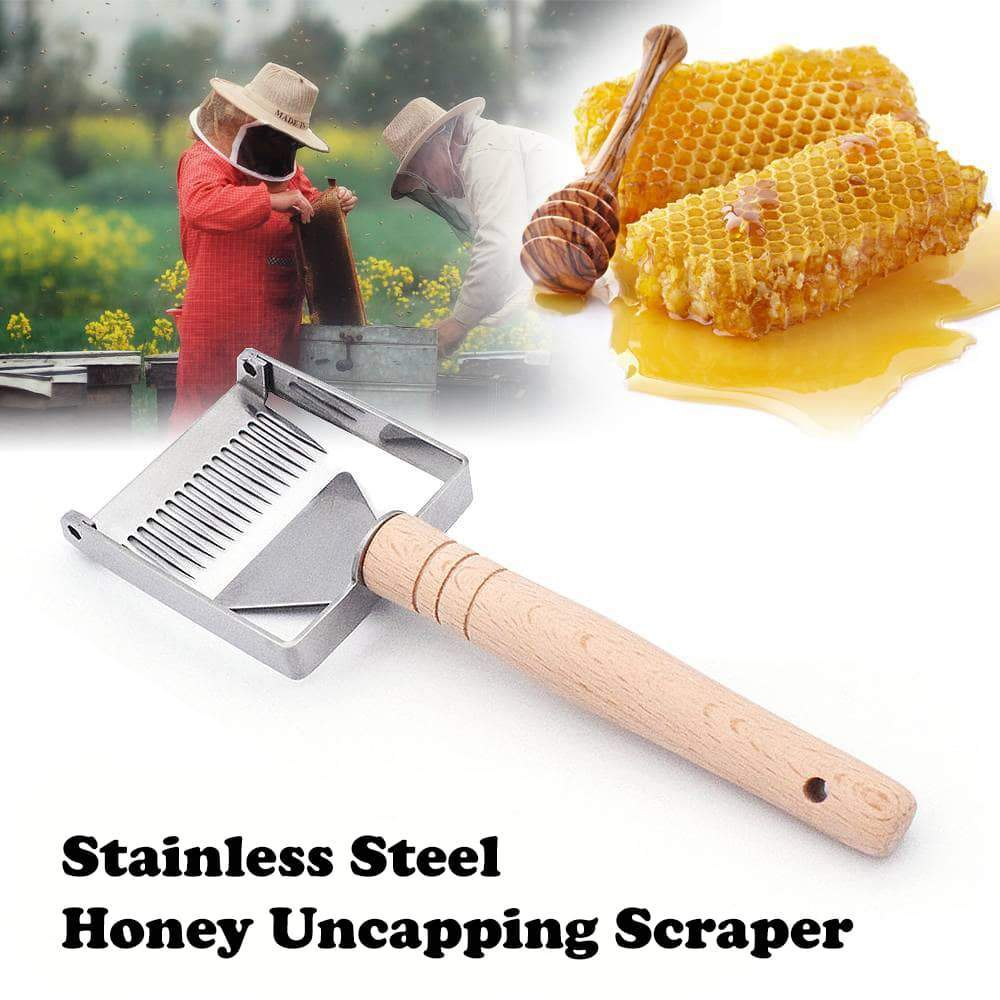 【Last Day Promotion!! Tomorrow $21.99 Each!】The Honey Uncapping Scraper