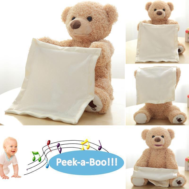 (50% OFF TODAY)Peek-A-Boo Teddy