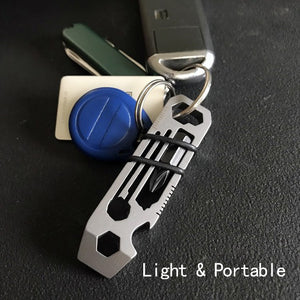 Hot sale 6 in 1 Multifunctional EDC Tool