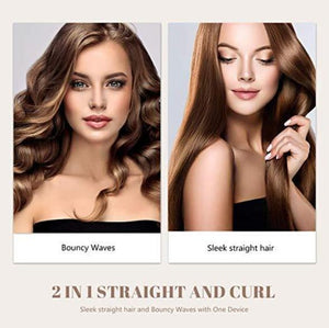🔥Last day promotion🔥2 In 1 Twist Straightening Curling Iron