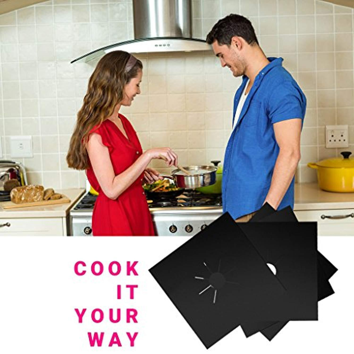 🔥Stove Burner Covers - Gas Stove Protectors🔥