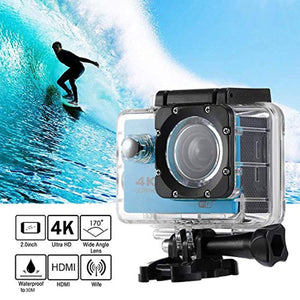 4K WiFi Action Camera