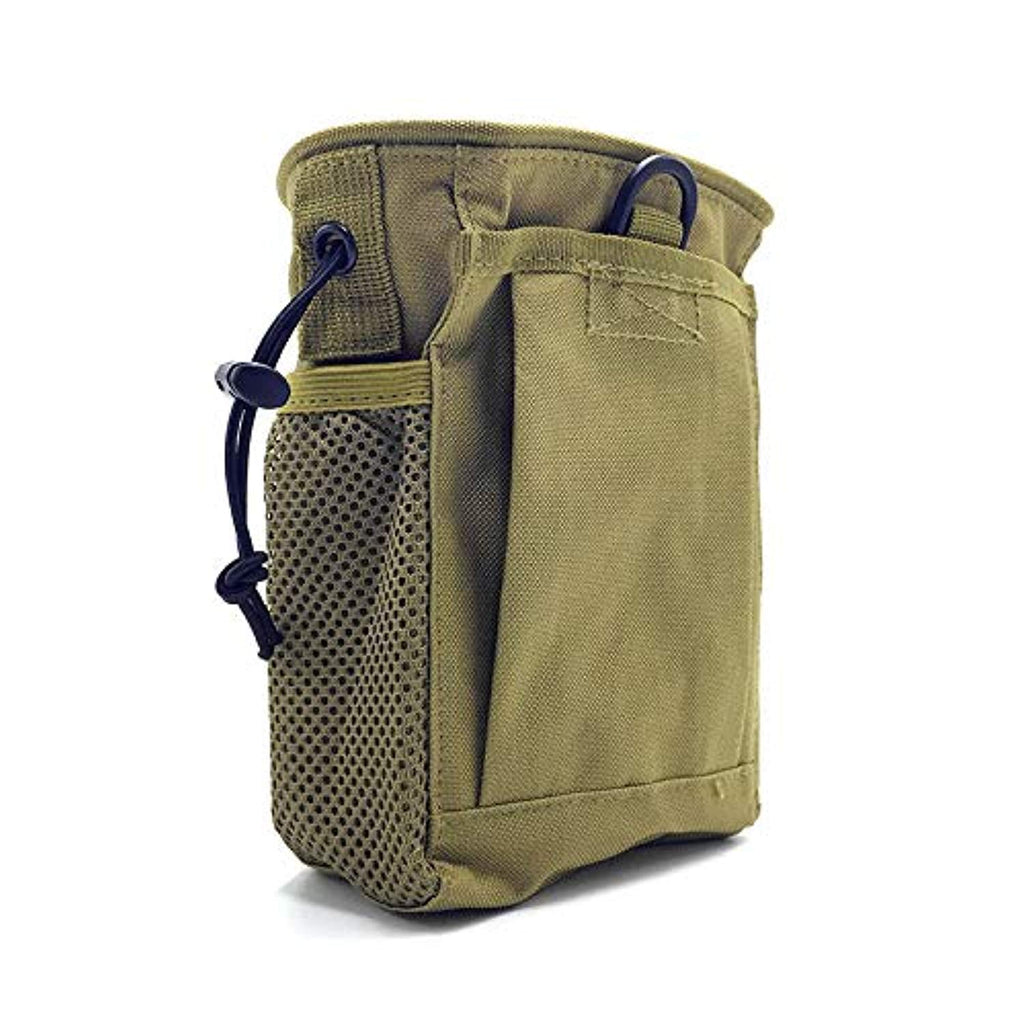 Metal Detector Accessory Portable Treasure Holder Waist Bag (Khaki)
