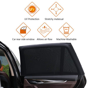 【Buy 4 Packs Free Shipping】Universal Car Window Sun Shade  (Fits all Cars)