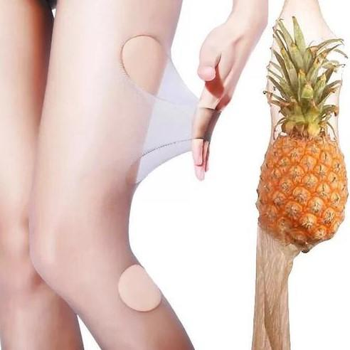 Never Stick Women's Pineapple Silk Stockings
