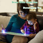Glowing Paint Glow Light Tablet