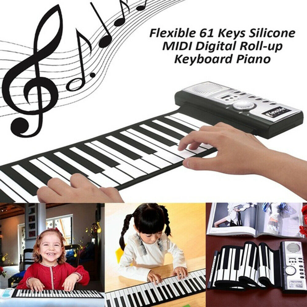 [60% OFF NOW!!] Portable Roll-Up Flexible Electronic Piano