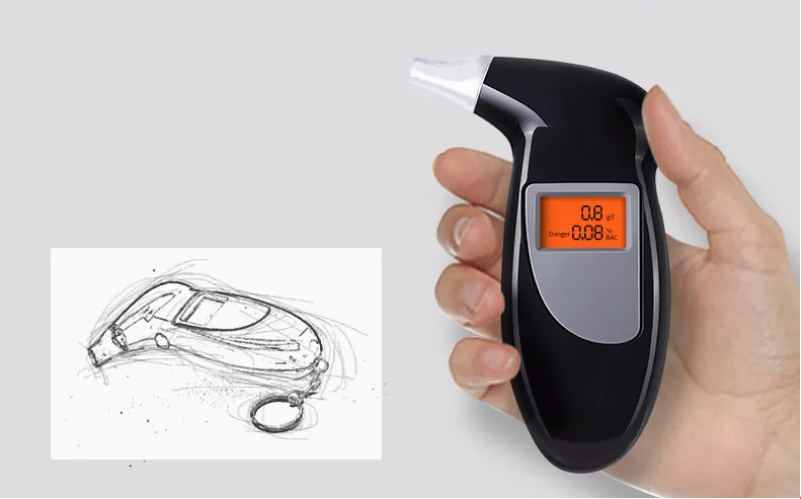 Digital Breath Alcohol Tester Detector