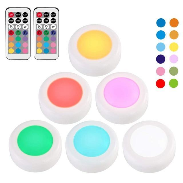 12 Colors RGB Touch Sensor LED Lights