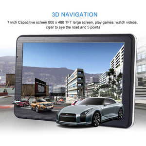 7 inch HD Car GPS Navigation Android 8GB Quad-core Automobile Navigator