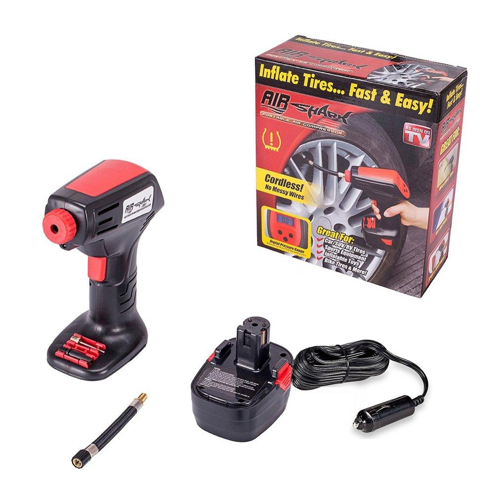 【50% OFF ONLY TODAY - Free Shipping】Hand-held Electric Air Compressor Inflator Pump