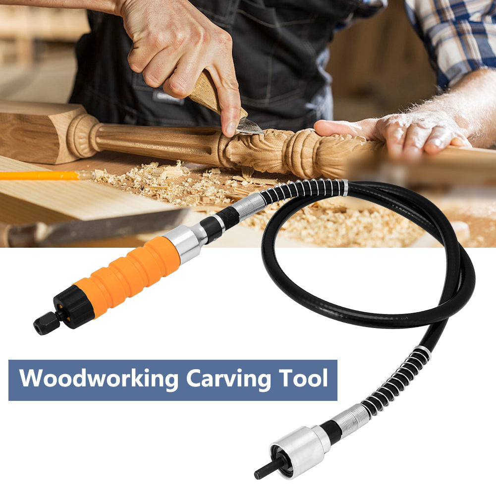 Homedeal™  Electric Woodworking Carving Chisel + Stainless Steel Flex Shaft