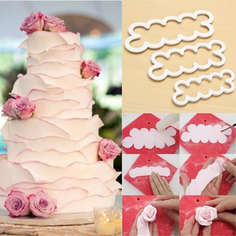 【Buy 1 Set Get 1 Set Free】Easy Gumpaste Rose Cutter Set