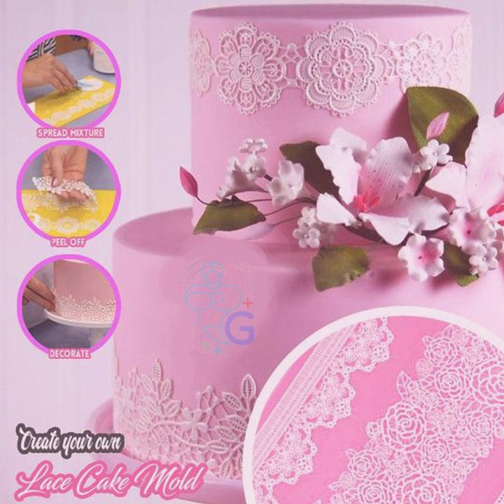 【Sales Ending Soon - Last Day 50% OFF】Silicone Molding Lace Mat