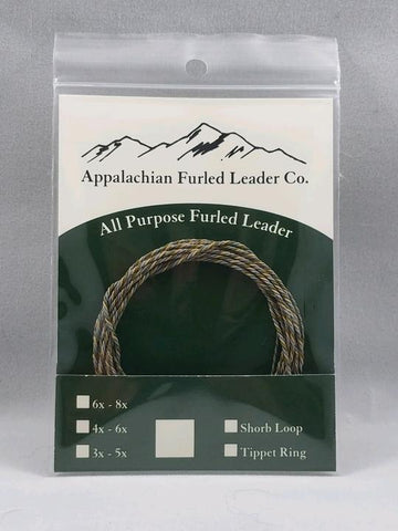 Appalachian Furled Leader Co. Blue Line Leader
