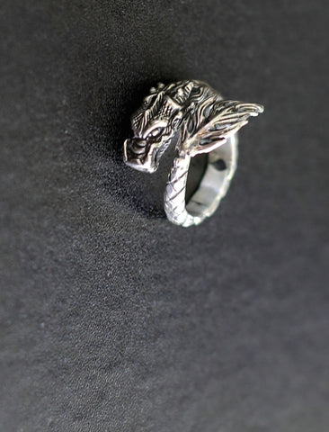 Dragon Ring with Tail