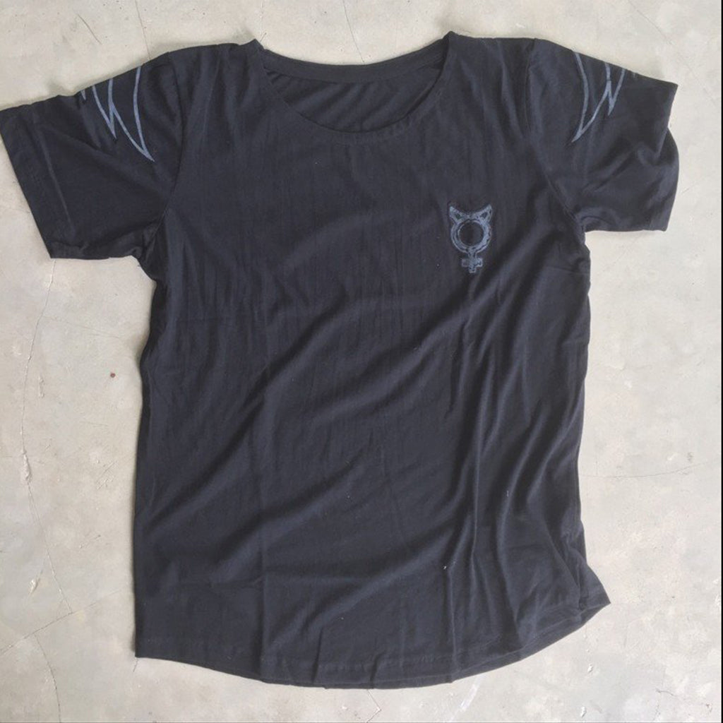 T-SHIRT MATT BLACK