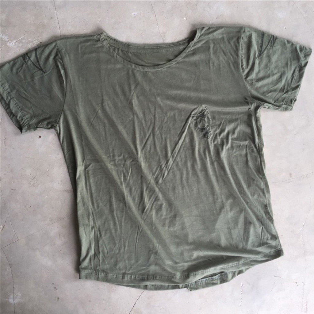 T-SHIRT OLIVE GREEN