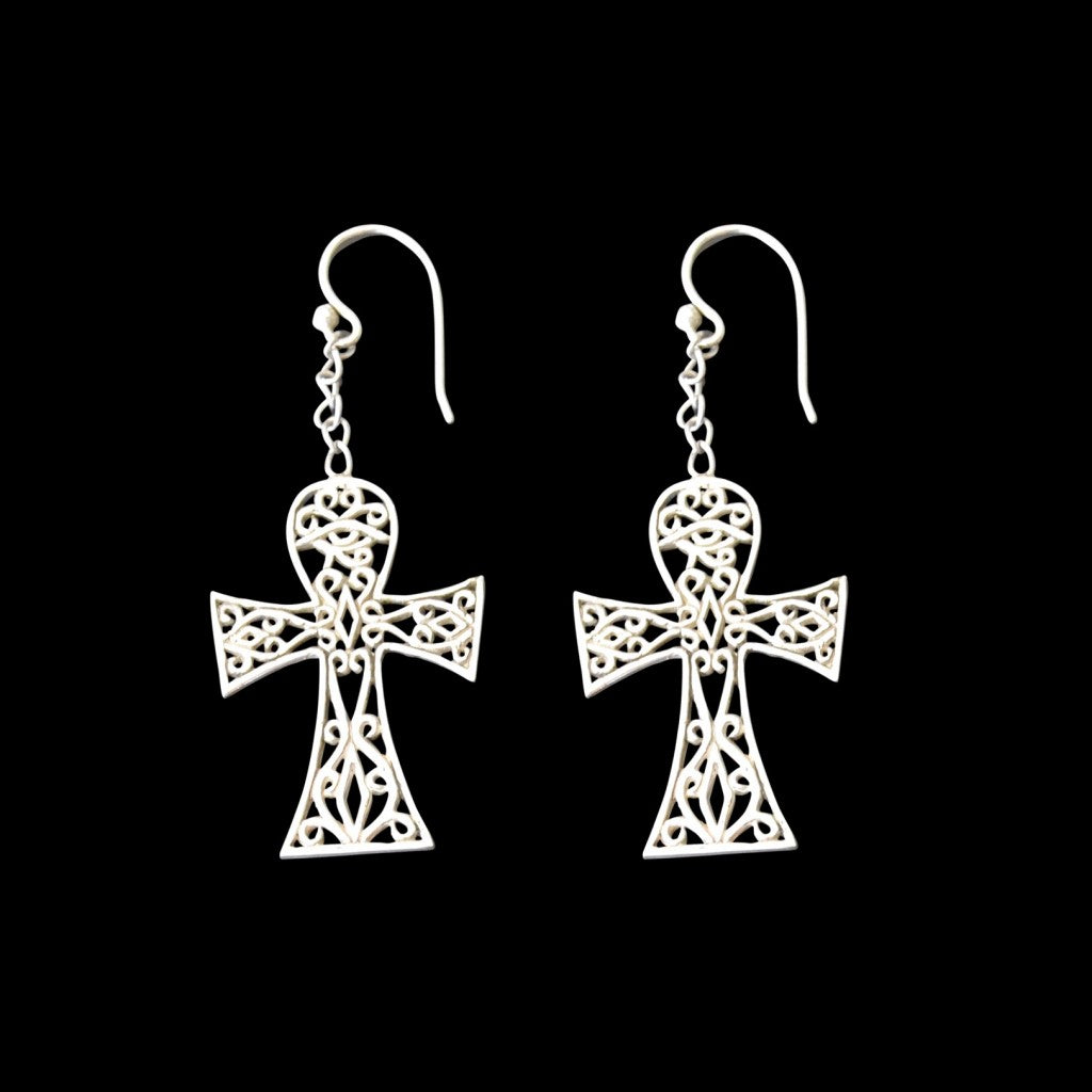 Ankh Earrings