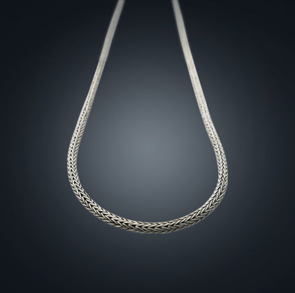 Silver Chain - Snake