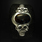 Two Faced Skull Bracelet