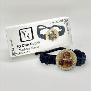5G DNA Repair Triskelion Bracelet