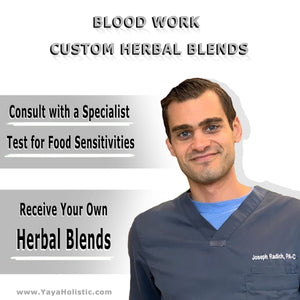 Custom Herbal Blend & Holistic Assessment (with BLOOD WORK)
