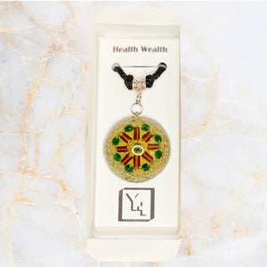 Health & Wealth Slim Power Pendant
