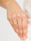 "Facett-Ring ""Annapurna"" Gold"