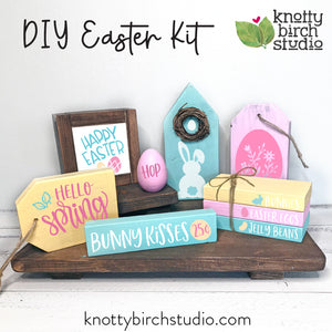 DIY EASTER KIT ONLY **NO WOOD RISERS