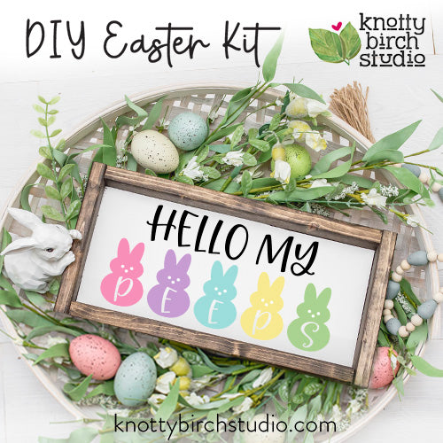 DIY HELLO PEEPS Kit