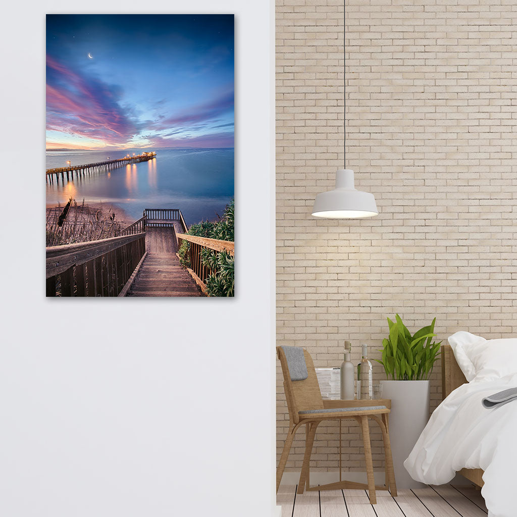 Bedroom wall art, Magical Morning in Capitola