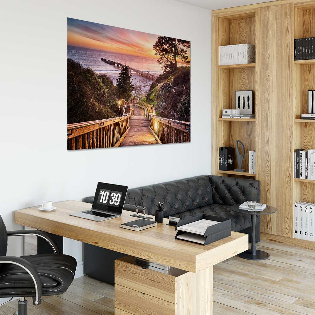 Stairway to the Sunset - Office Wall Art