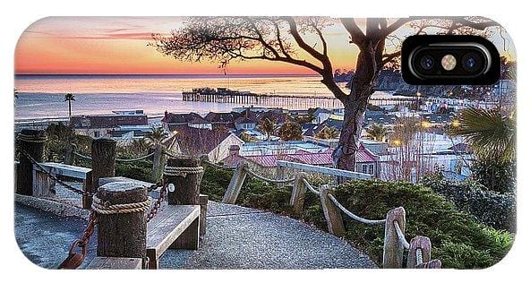 Depot Hill Sunset - Phone Case - Santa Cruz Art Prints