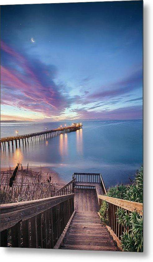 Magical Morning In Capitola - Metal Print