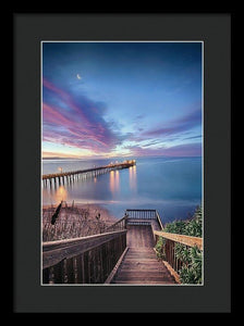 Magical Morning In Capitola - Framed Print - Santa Cruz Art Prints