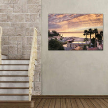 Load image into Gallery viewer, Capitola Village At Sunrise - Acrylic Print - Santa Cruz Art Prints