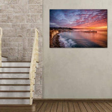 Load image into Gallery viewer, Capitola Wharf at Sunrise - Great Room Wall Art Print