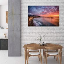 Load image into Gallery viewer, Capitola Wharf at Sunrise - Dining Room Wall Art Print