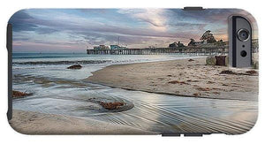 Capitola Wharf At Sunset - Phone Case - Santa Cruz Art Prints