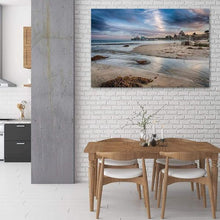 Load image into Gallery viewer, Capitola Wharf at Sunset - Dining Room Wall Art Print